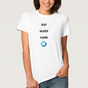 Eat Sleep Game Repeat (Womens)